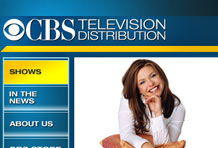 Wireframe CBS Television Distribution