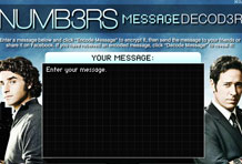 Wireframe Numbers Message Decoder